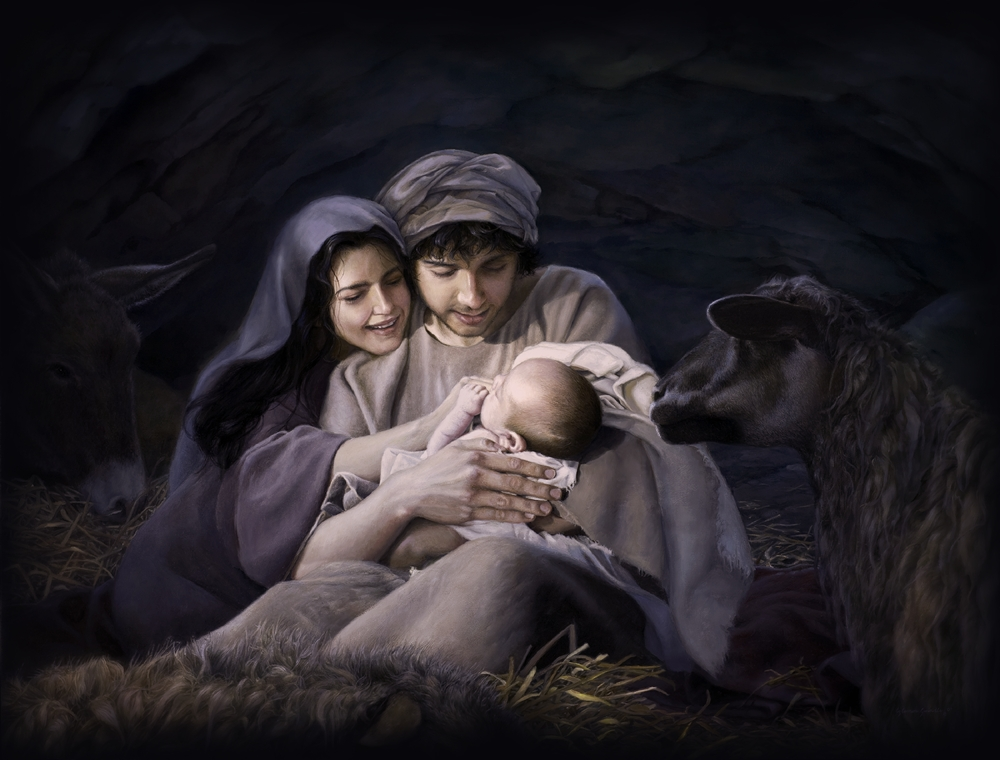 How Old Were Mary and Joseph? - Kenneth Cope Jesus Christ Lds Simon Dewey